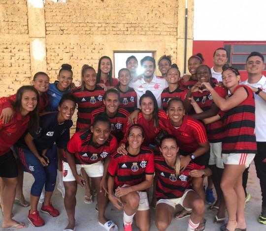 Flamengo/Marinha vence Ponte Preta e segue 100% no Brasileirão Feminino
