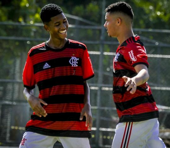 Sub-15 empata com Volta Redonda pela Taça Guanabara em jogo de oito gols