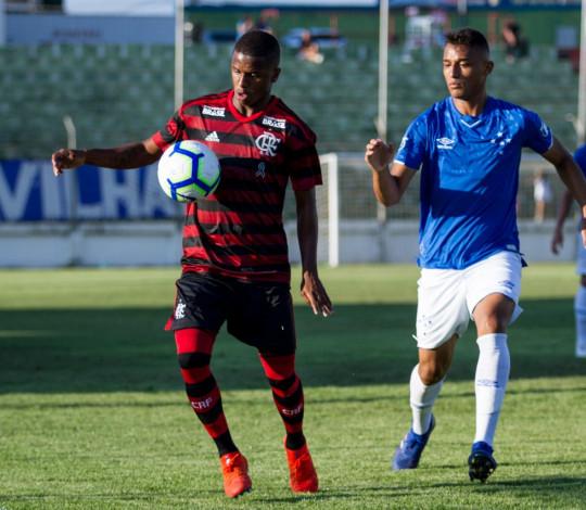 Sub-20 joga bem fora de casa e empata com o Cruzeiro no jogo de ida da semifinal da Copa do Brasil