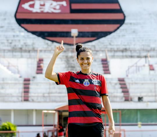 Lu Meireles é mais um reforço do Flamengo/Marinha
