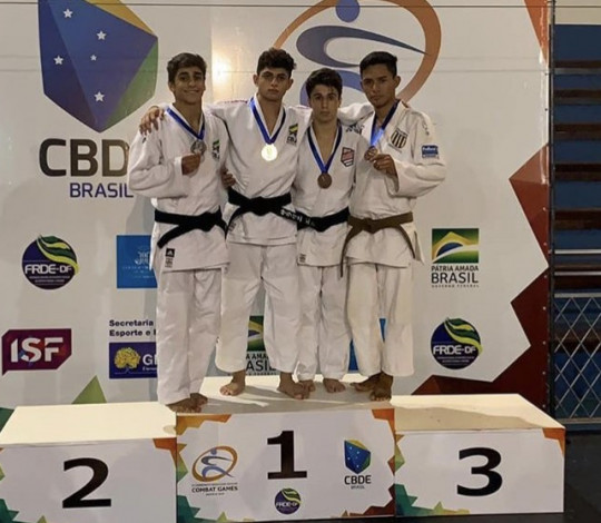 Cauan Salarini é campeão do Combate Games e se classifica para Mundial Escolar