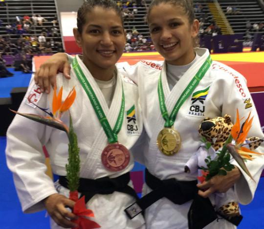 Sarah Menezes conquista a medalha de bronze no Pan-Americano de Judô