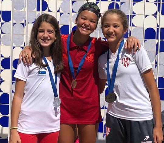 Flamengo conquista três medalhas de ouro no Torneio de Figuras de Nado Artístico