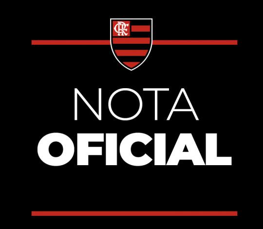 Nota Oficial - Futebol