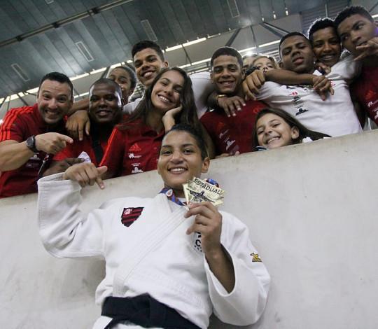 Com ouro de Sarah Menezes, Flamengo conquista 21 medalhas na 2ª Etapa do Estadual de Judô