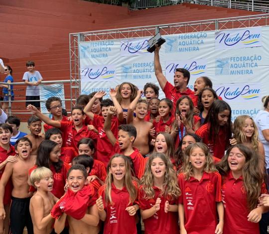 Flamengo é tetracampeão do Festival CBDA Sudeste Petiz de Natação
