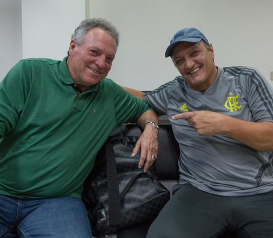 Presença especial na delegação, Leandro confia na classificação do Flamengo na Libertadores