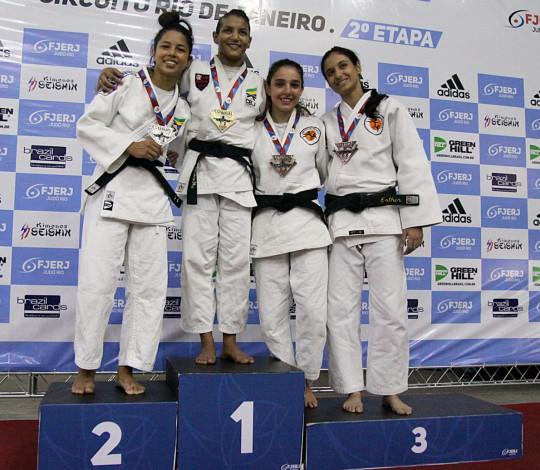 Time Flamengo conquista o título da 2ª Etapa do Circuito Rio de Janeiro de Judô