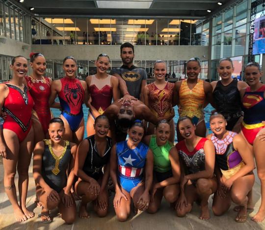 Rubro-negras da Seleção Brasileira dão show em apresentação no SESC Guarulhos