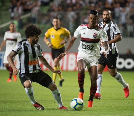 Flamengo perde para o Atlético-MG, no Independência