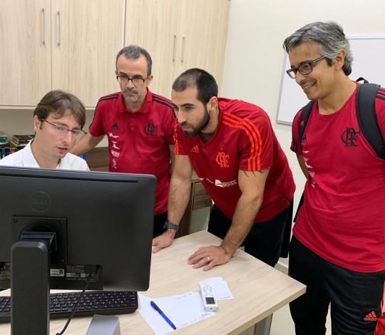 CUIDAR realiza treinamento de protocolo de concussão cerebral