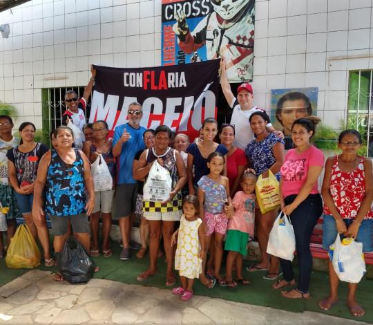 Ação social do Dia das Mães 2019 da Embaixada Conflaria Maceió