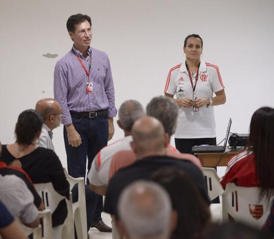 Flamengo promove semana de conscientização e prevenção de acidentes