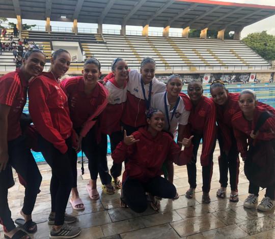 Flamengo conquista o ouro nas categorias Infantil e Junior no Torneio de Solos Técnicos