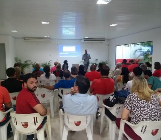 Com grande presença de funcionários, Flamengo encerra SIPATMA na Gávea