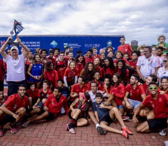 Em disputa acirrada, Flamengo conquista a 2ª Etapa do Campeonato Estadual de Remo