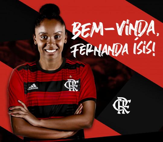 Bicampeã da Superliga, Fernanda Ísis chega ao vôlei rubro-negro
