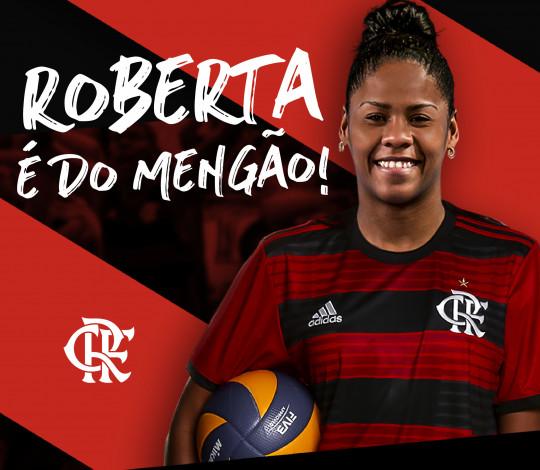 Roberta Gomes integra elenco rubro-negro para a Superliga