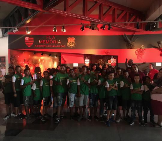 ONG Recriando Raízes visita a Gávea pelo programa Visita RJ