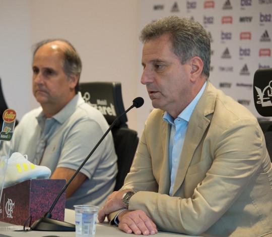 Presidente Rodolfo Landim fala sobre a saída de Abel Braga do Flamengo