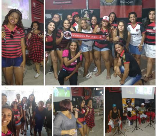 Embaixada Fla Campos-RJ realiza evento em homenagem ao mês das mães em prol de criança com câncer