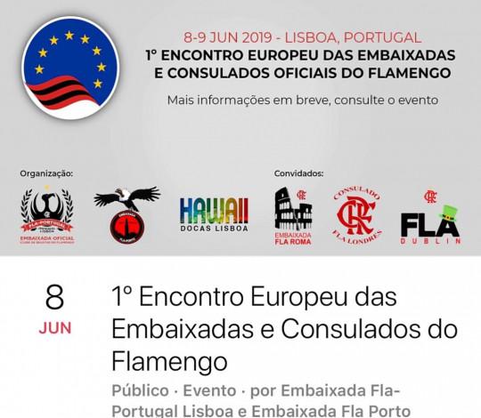 1o Encontro Europeu das Embaixadas e Consulados