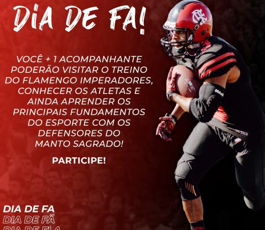 Flamengo Imperadores lança promoção para torcedores rubro-negros