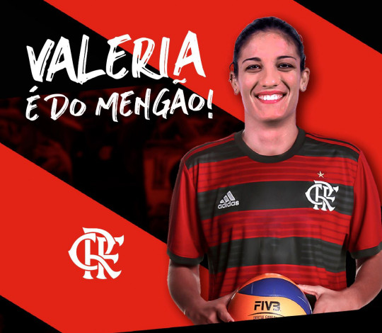 Diretamente da Itália, Valeria Papa é o novo reforço do Flamengo