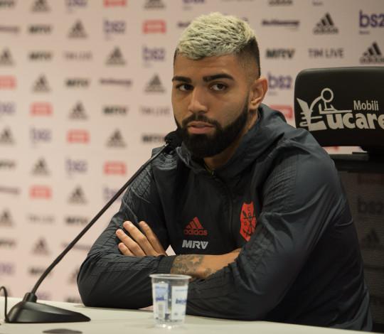 Gabriel ressalta a importância do jogo contra o Corinthians
