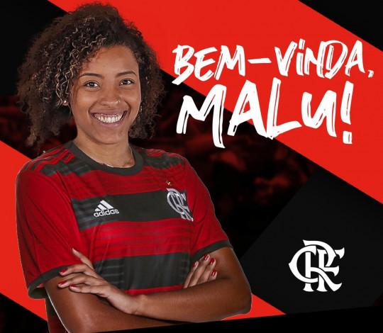 Campeã da Superliga 2018/19, Malu realiza desejo antigo de jogar no Flamengo