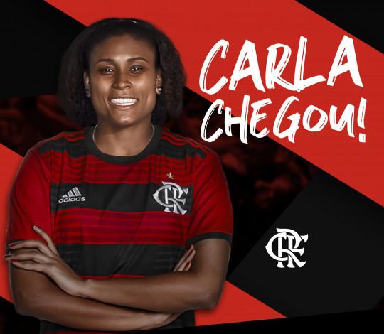 Com um título de Superliga na bagagem, ponteira Carla Santos chega ao Flamengo