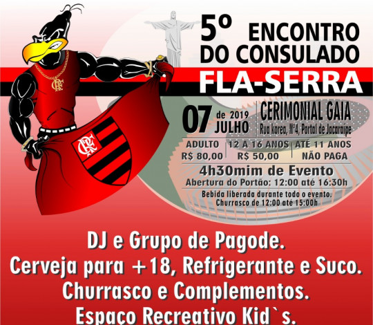 5º encontro do Consulado Fla-Serra ES