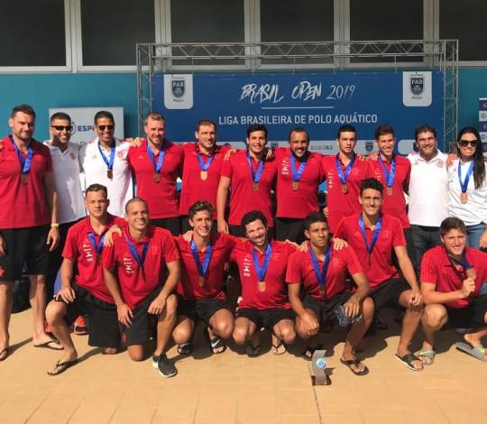 Flamengo conquista o bronze no Brasil Open de Polo Aquático Masculino