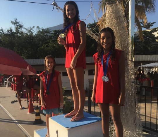 Flamengo conquista quatro medalhas de ouro no II Torneio de Figuras de Nado Artístico