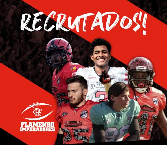 Flamengo Imperadores anuncia a chegada de cinco atletas e mais um coach para a disputa da Liga BFA