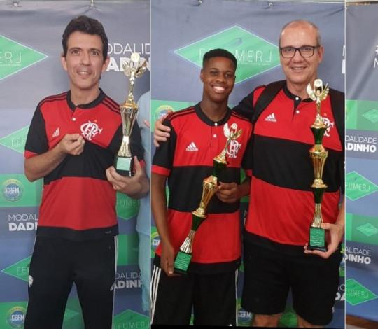 Flamengo fatura três das quatro categorias do 1º Turno do Estadual de Futebol de Mesa