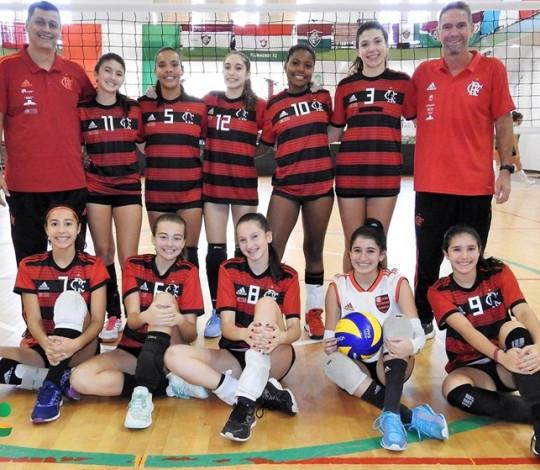 Flamengo é bronze no Brasileiro Interclubes Sub-15 de Vôlei Feminino