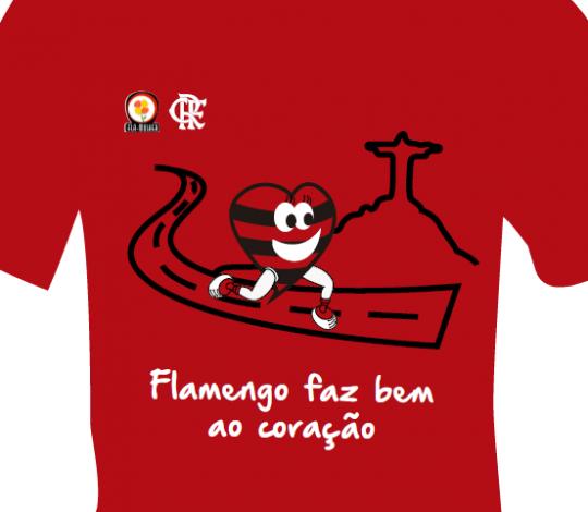 Caminhada na Lagoa dá início ao projeto 'Flamengo Faz Bem ao Coração'