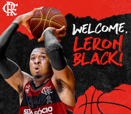 Leron Black é o novo jogador do Flamengo
