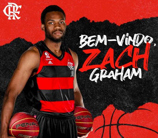 Zach Graham é o novo reforço do FlaBasquete