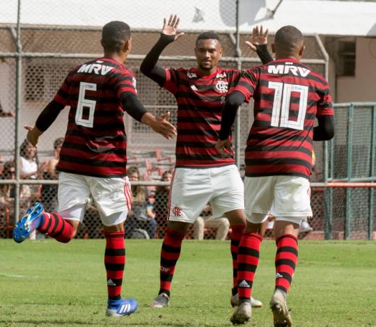 Sub-20 goleia o Fluminense pela Taça Rio na Gávea e mantem soberania em clássicos na temporada