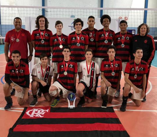 Flamengo termina em segundo lugar no Campeonato Brasileiro Interclubes Sub-16