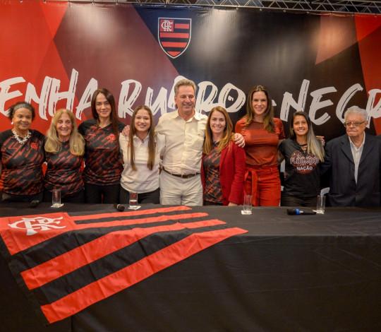 Patrimônio Histórico promove resenha entre mulheres que fizeram parte do Flamengo