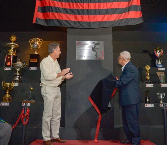 Sala de troféus do Fla Memória recebe nome de José Maria Scassa