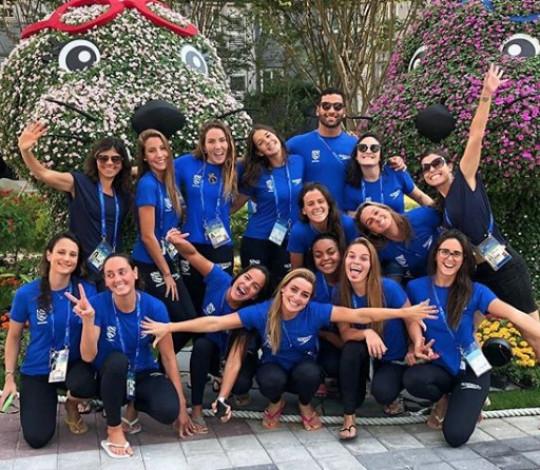 Rubro-negros do nado artístico estreiam no Mundial de Esportes Aquáticos nesta sexta-feira (12)