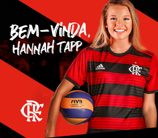 Hannah Tapp é do Flamengo!