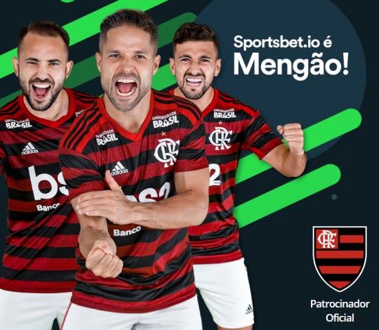 Flamengo anuncia Sportsbet.io como patrocinador