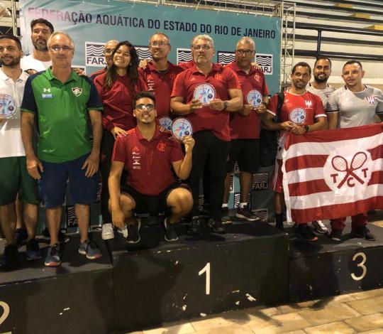 Flamengo é campeão do Estadual Infantil a Sênior de Natação