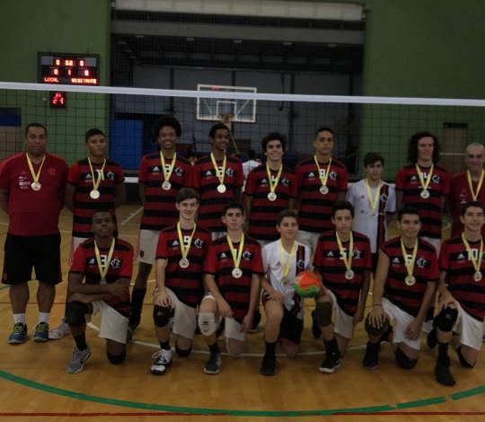 Flamengo é campeão da Copa Rio e do Open Infantil de Vôlei Masculino