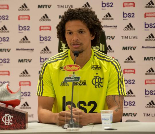 Willian Arão: Quero fazer meu melhor a cada jogo